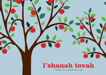 Harvesting a Good New Year Rosh Hashanah Cards