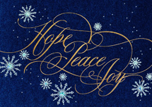 Abundant Joy Holiday Cards